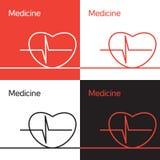 Medicine icon, logo, concept Stock Photography