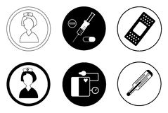 Medicine icon Stock Photography