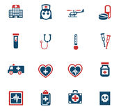 Medicine icon set Royalty Free Stock Image