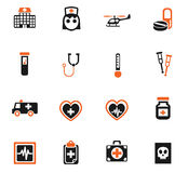 Medicine icon set. Medicine web icons for user interface design Stock Photography