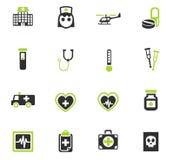 Medicine icon set Royalty Free Stock Photography