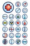 Medicine icons Stock Image