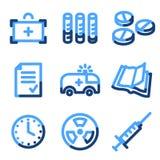 Medicine icons Royalty Free Stock Image