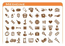 Medicine Icons Royalty Free Stock Images
