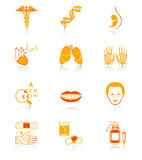 Medicine icons | JUICY series Royalty Free Stock Image