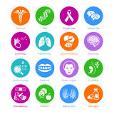 Medicine icons | METRO series Royalty Free Stock Image
