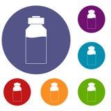 Medicine icons set Stock Images