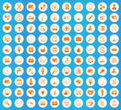 Medicine icons set Royalty Free Stock Images