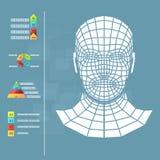 Medicine infographics Royalty Free Stock Image