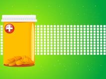 Medicine in jar Stock Images