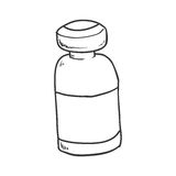 Medicine jar icon. Medical and Health care design. Vector  Royalty Free Stock Photography