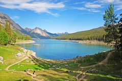 Medicine Lake Royalty Free Stock Images