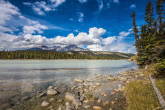 Medicine Lake in the fall Royalty Free Stock Photos