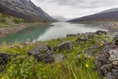 Medicine Lake - Jasper National Park Royalty Free Stock Photos
