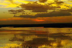 Medicine Lake Montana Royalty Free Stock Photos