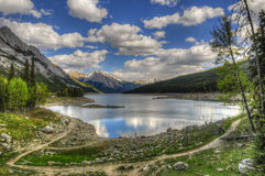 Medicine Lake Royalty Free Stock Image