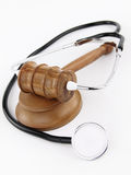 Medicine and law Stock Image