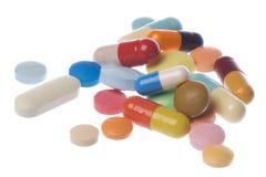 Medicine Macro Isolated Stock Image