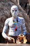Medicine Man. From the Karoo tribe in Ethiopia Omo Valley Stock Image