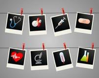 Medicine moments Stock Image