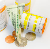 Medicine and money Royalty Free Stock Photo