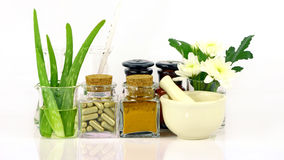 Medicine from natural products. Royalty Free Stock Image