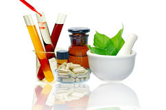 Medicine from Nature. Royalty Free Stock Photos