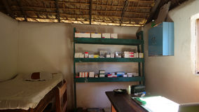 Medicine. Outpatient clinic in the island of Nosy Be in Madagascar Royalty Free Stock Photos