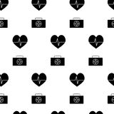 Medicine pattern vector Royalty Free Stock Photography