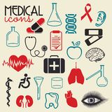 Medicine pattern Stock Image