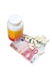 Medicine pharmaceutics business Royalty Free Stock Photo
