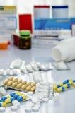 Medicine. A pile of medicine or drug Royalty Free Stock Image