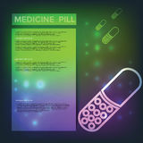 Medicine Pill Royalty Free Stock Image