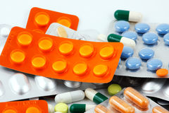 Medicine and pills Stock Images