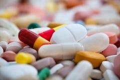 Medicine pills stock photo