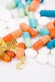 Medicine pills Royalty Free Stock Photos