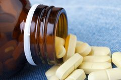 Medicine pills Royalty Free Stock Images