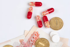 Medicine pills Stock Photography