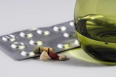 Medicine pills Stock Photography