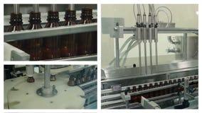 Medicine Production. Liquid Medicine. stock video