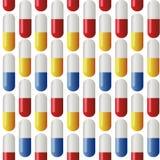 Medicine Seamless Pattern. Royalty Free Stock Photos