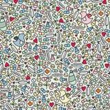 Medicine seamless pattern. Stock Image