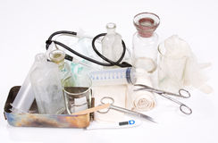 Medicine set Royalty Free Stock Image