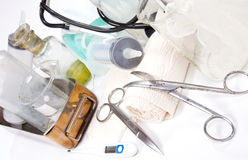Medicine set Royalty Free Stock Photo
