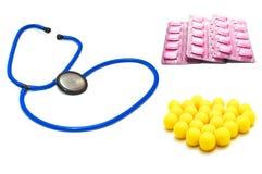 Medicine set Stock Photo