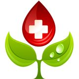 Medicine sign. Royalty Free Stock Images
