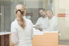 Medicine staff in hospital Stock Photography