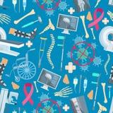 Medicine surgery health vector seamless pattern Stock Photo
