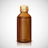 Medicine Syrup Bottle Stock Photo