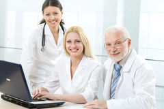 Medicine team Stock Photos